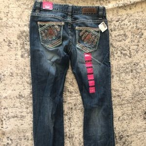 Size 28x34 rock n roll cowgirl jeans